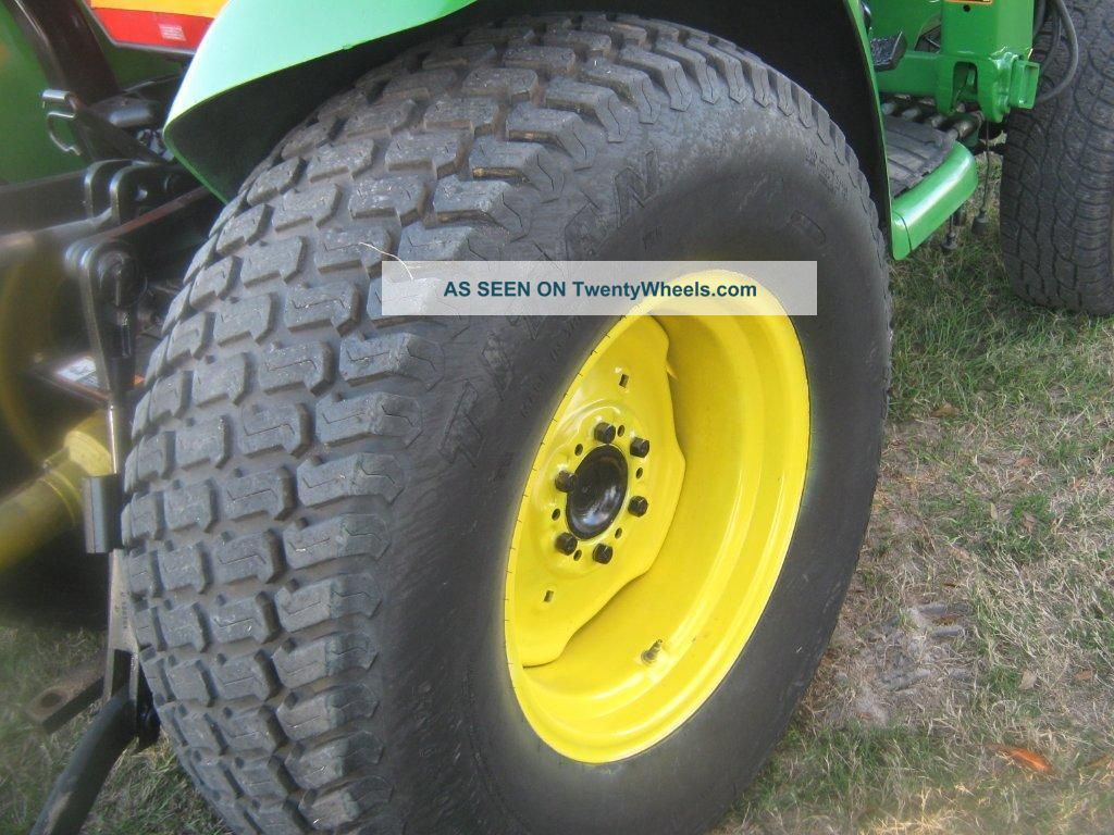 "1999 John Deere Jd 4300 Tractor W/ 420 Loader & "" 2007 ..."