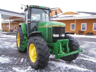 John Deere 7600 Tractor photo
