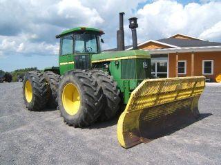 John Deere 8430 Tractor photo