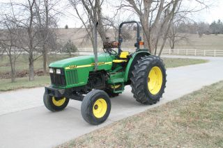 1998 John Deere 5410 Low Hours And Good Tires photo