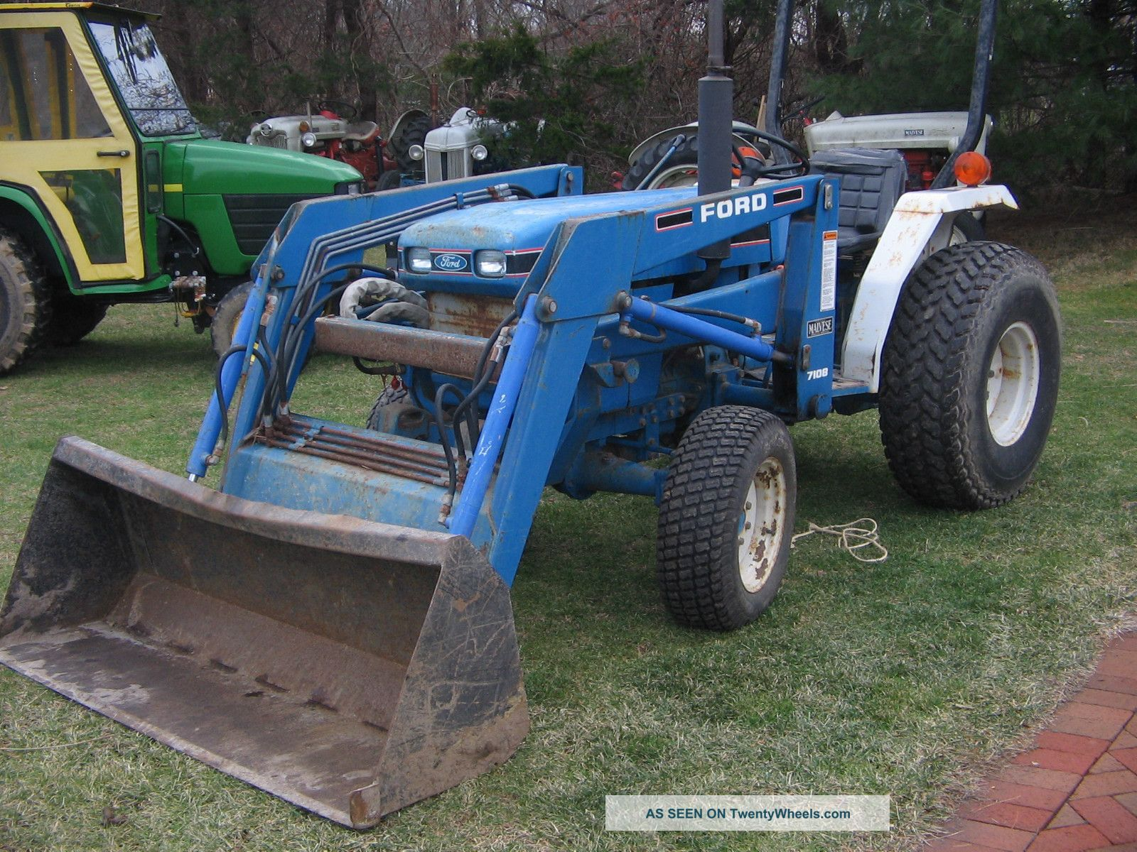 1715 Ford Tractor Parts : Ford new holland tractor for sale