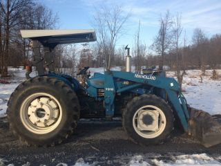 Ford New Holland 3930 4x4 Diesel Tractor Loader Cheap photo