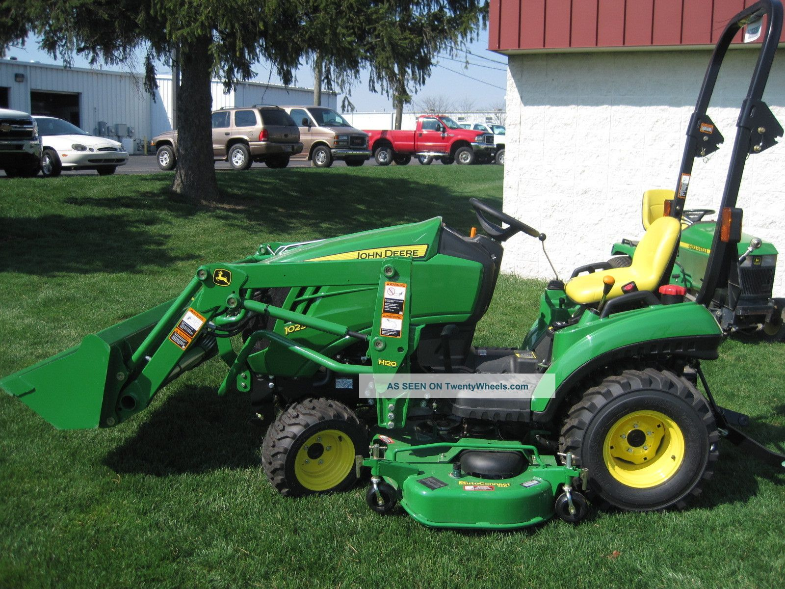 New John Deere 1023e 1 Series Sub Compact Tractor With Front Loader