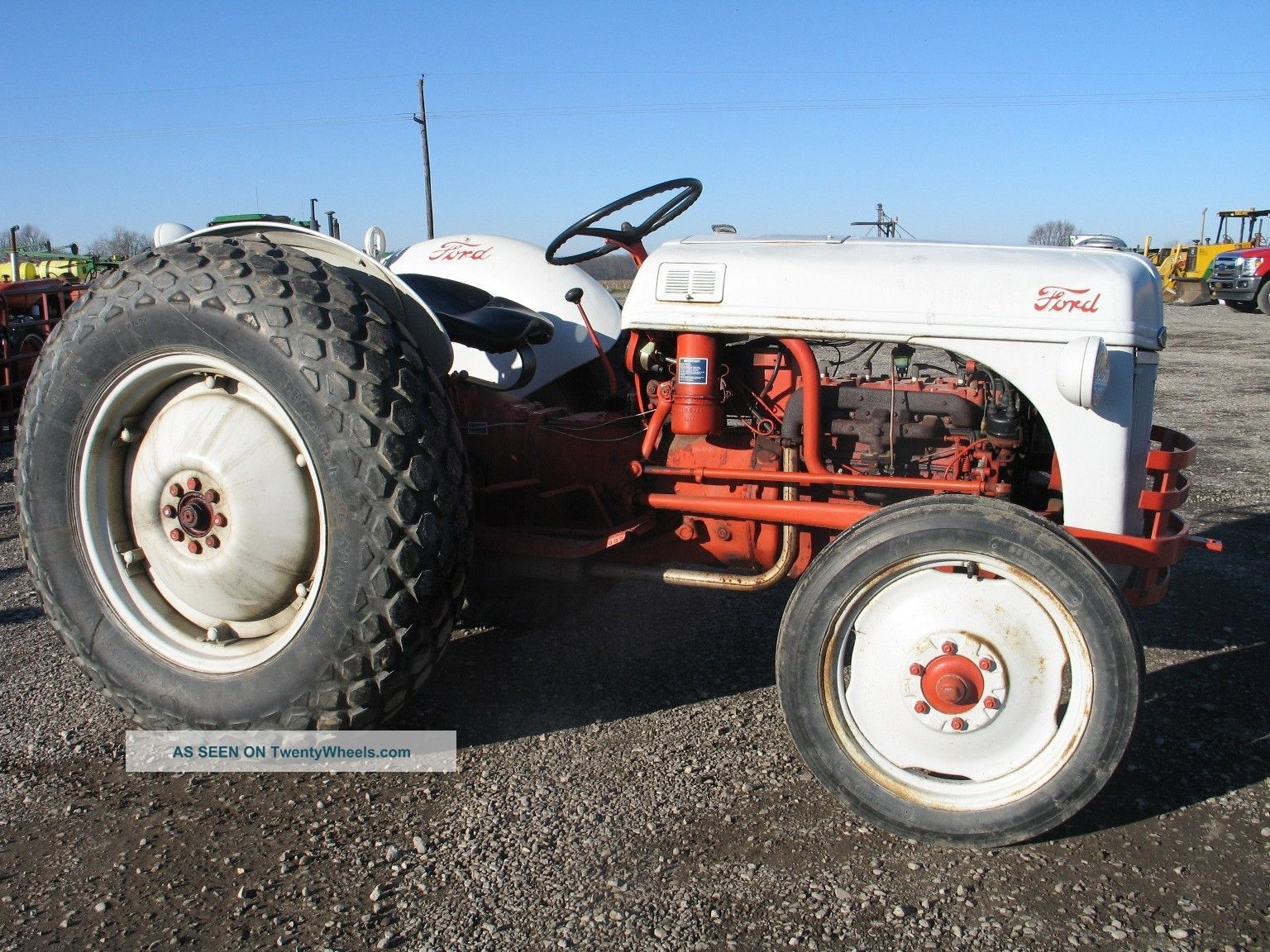 Ford 6n Tractor : Ford n tractor pictures to pin on pinterest daddy