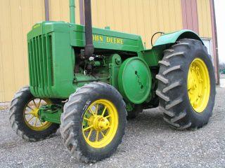 1942 John Deere Model D Tractor photo