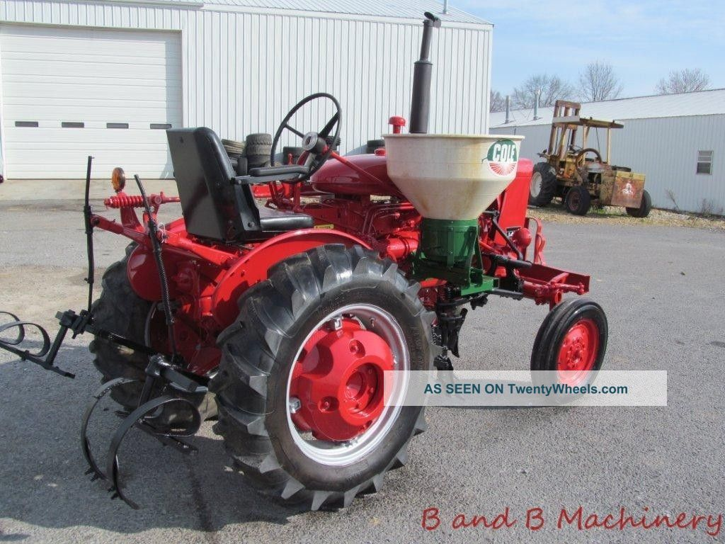 Farmall 140 Tractor : International farmall tractor w cultivators side dresser