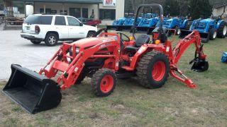 Kioti Ds3510 Tractor/loader/backhoe Demo 15 Hours photo