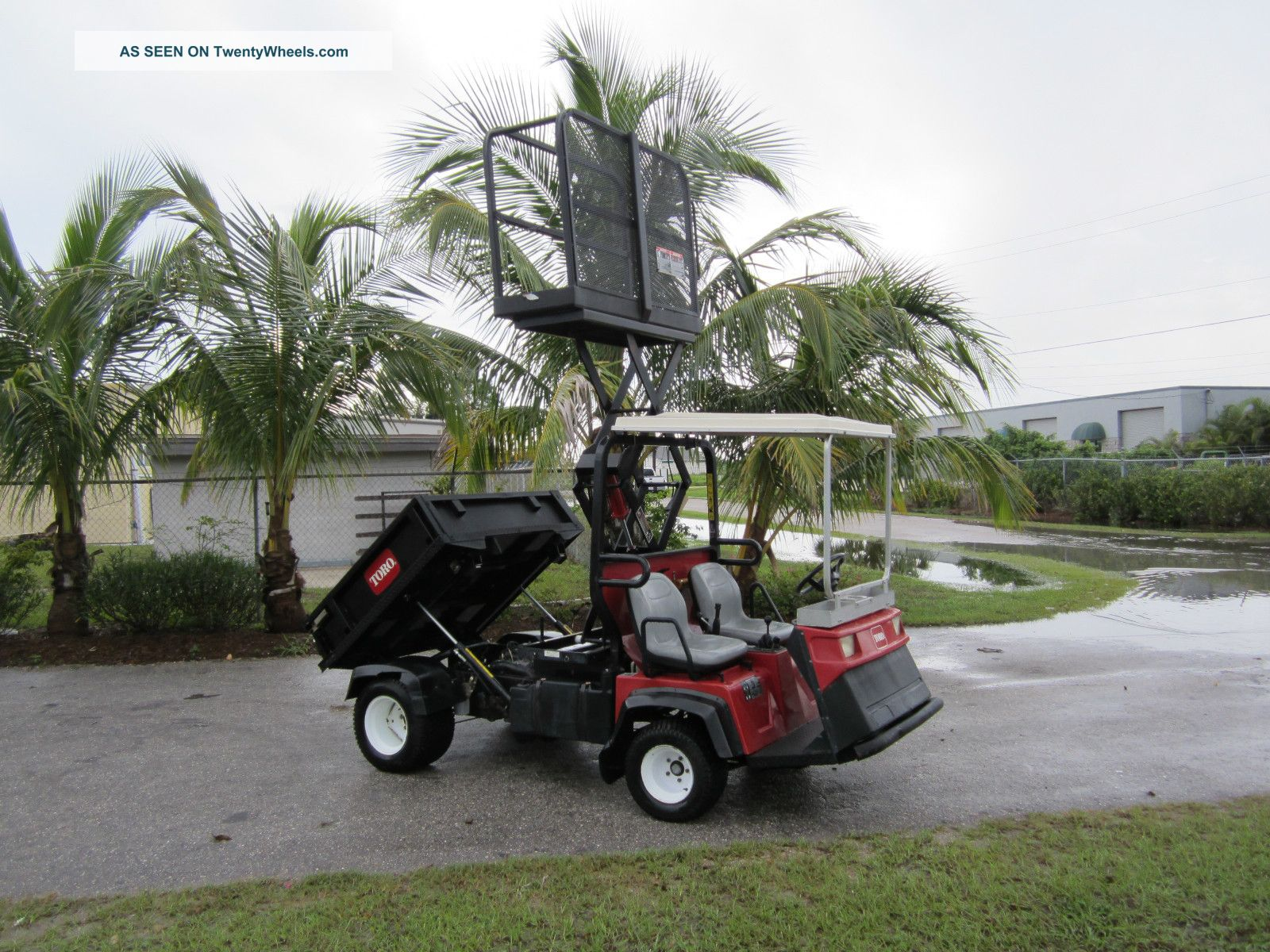 2003 Toro Workman 3200 Dump Body Scissor Lift Man Lift 1525 Hrs. Utility Vehicles photo