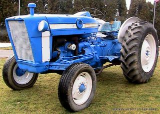 Ford 3000 Tractor 2wd Gas 47hp 8 Speed 1969 photo