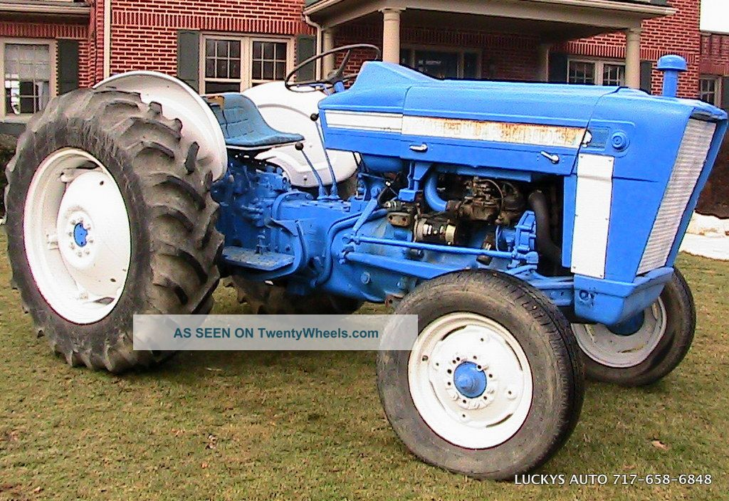 69 Ford 3000 Tractor : Ford tractor wd gas hp speed