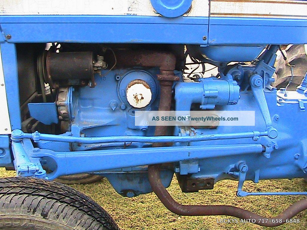 ford  tractor wd gas hp  speed