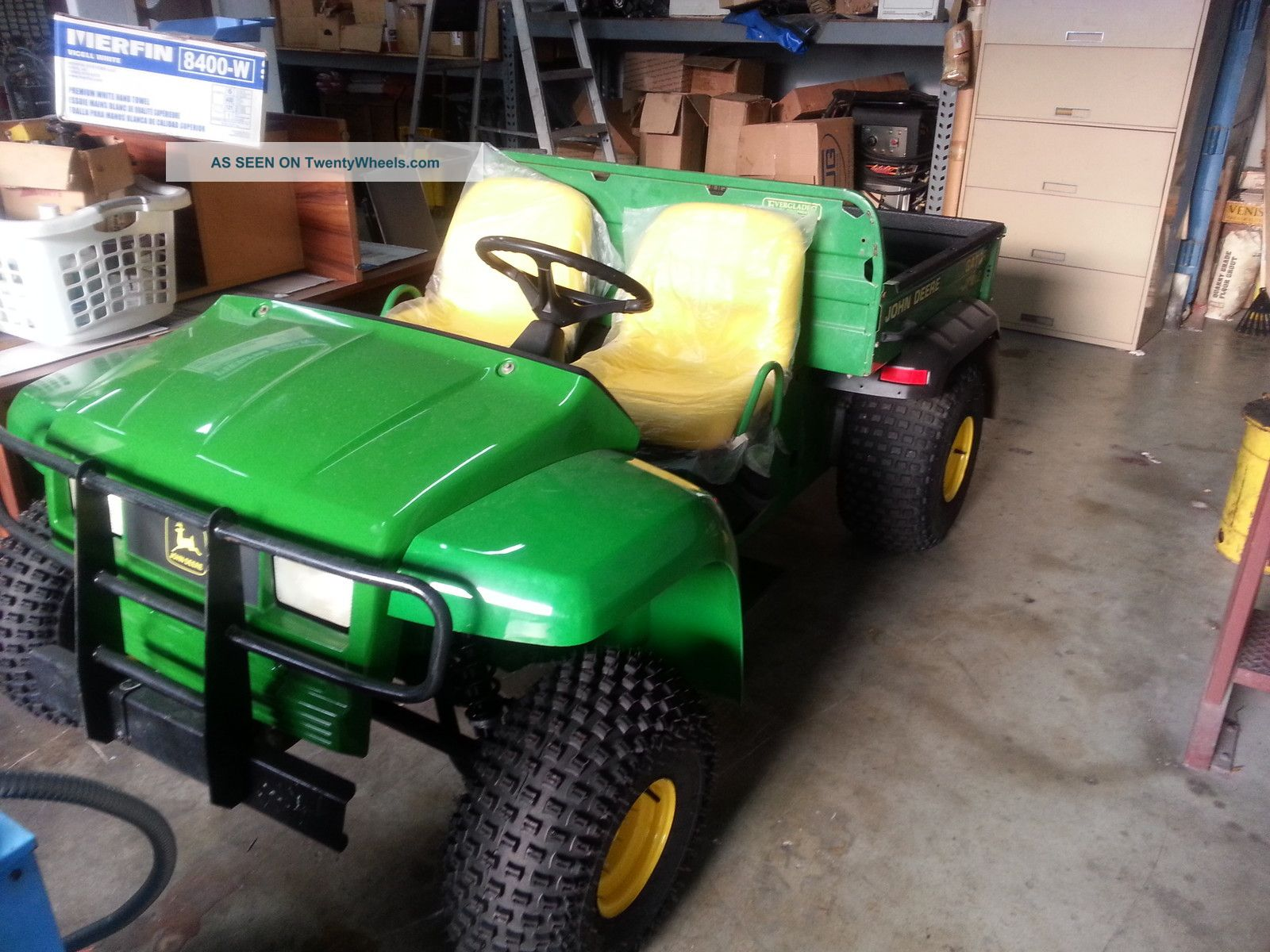2002 Refurbished John Deere Gator 4x2 Utility Vehicles photo