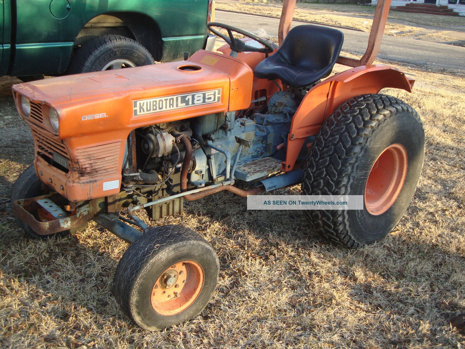 Two Point Tractor : Kubota l cylinder desiel tractor w three point lift