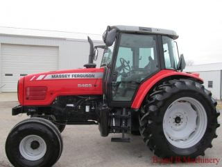 Massey Ferguson 5465 Diesel Farm Tractor Cab Mint photo