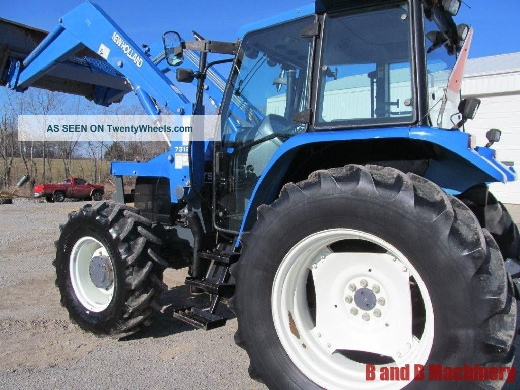 Ford New Holland Ts110 Diesel Farm Agriculture Tractor With Cab