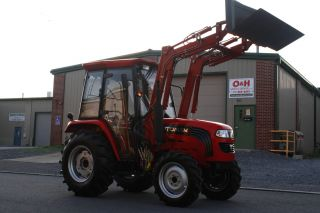 New 2012 Foton 50hp Tractor 4wd,  Heated And A/c Cab,  Front Loader photo