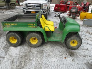 John Deere Gator 4x6 4x4 Gas Kawasaki Dump Utility Mini Truck Utv Atv Hunting photo