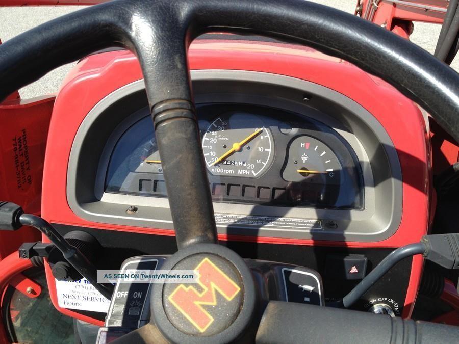 2001 Mahindra 4110 Tractor Stock U0001522