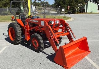2001 Kubota L2600dt 4wd Compact Tractor W/ Loader – 250 Hrs - Stock U0001476 photo