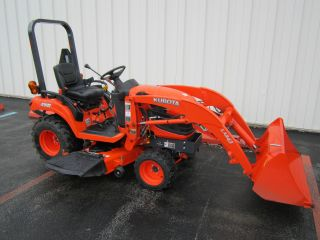 Kubota Bx2360 With Front Loader And Mower Deck photo