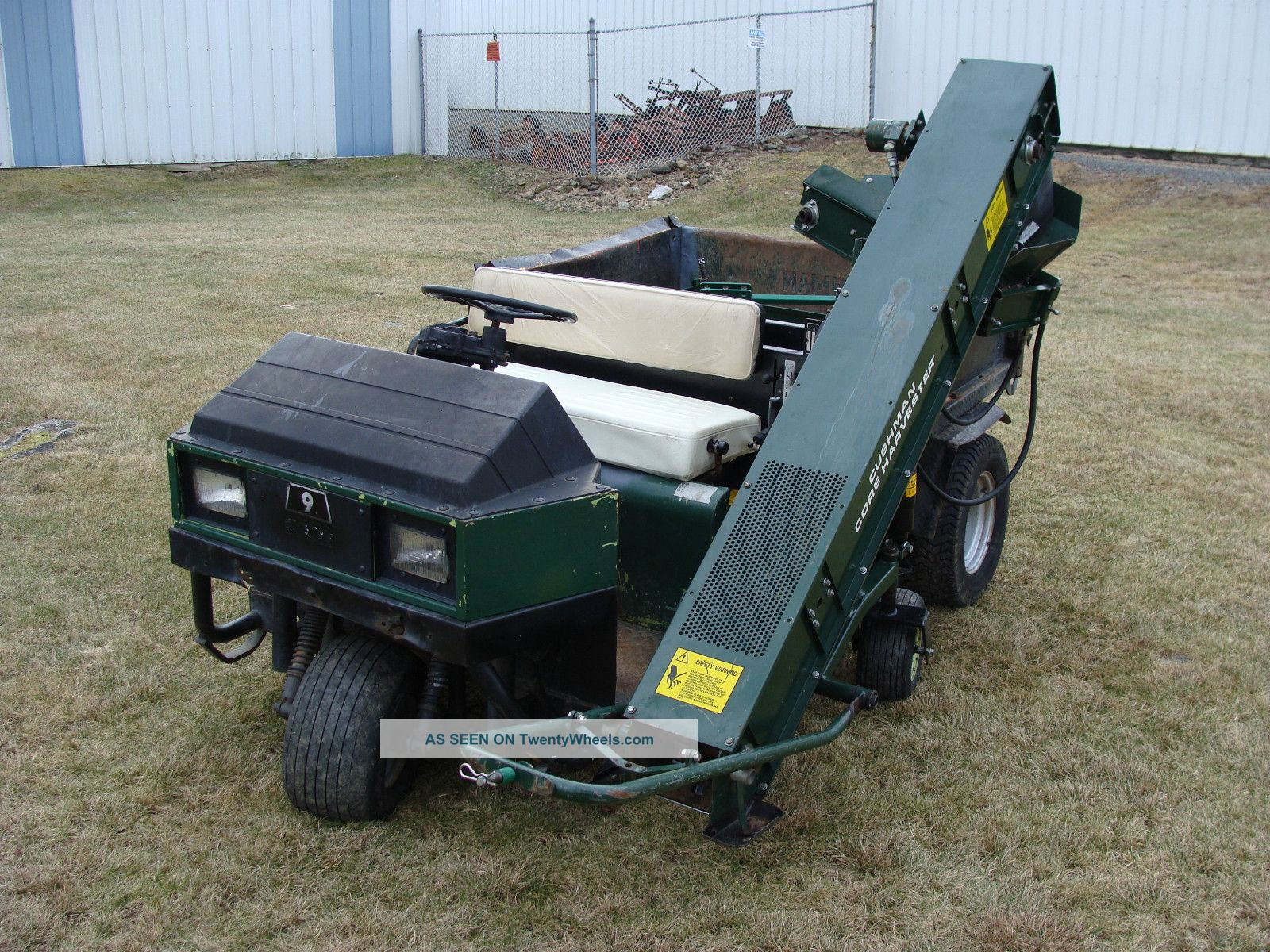 Cushman Truckster W/ Core Harvester Utility Vehicles photo