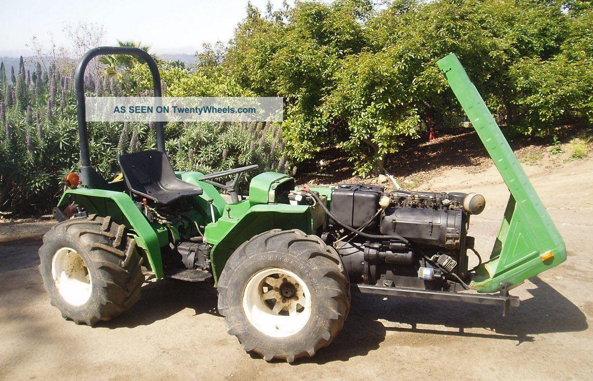 Ferrari Farm Tractor / Pasquali /california Tractors photo