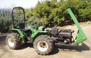 Ferrari Farm Tractor / Pasquali /california photo