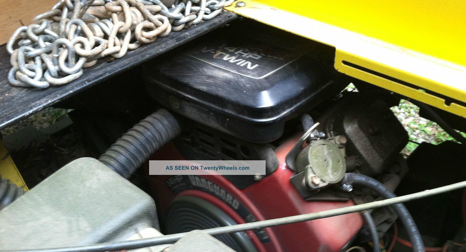 Cushman Gt 1 Utv V Twin Truckster Commercial Utility