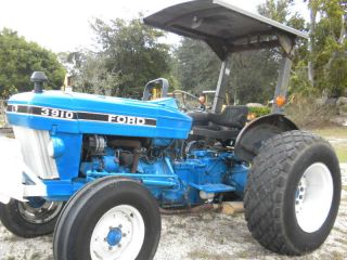 Ford 3910 Farm Tractor - 48 Hp - Runs Great photo