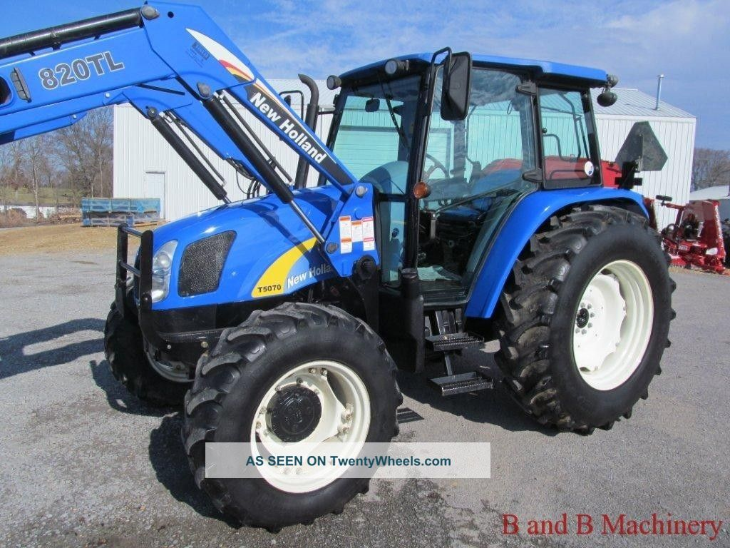 Ford Farm Tractors : Ford new holland t diesel farm agriculture tractor