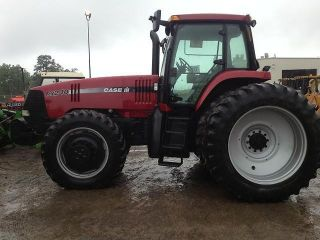 2003 Case Ih Mx240 Mfwd With Enclosed Cab photo