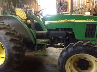 2002 John Deere 5320 4wd Tractor photo
