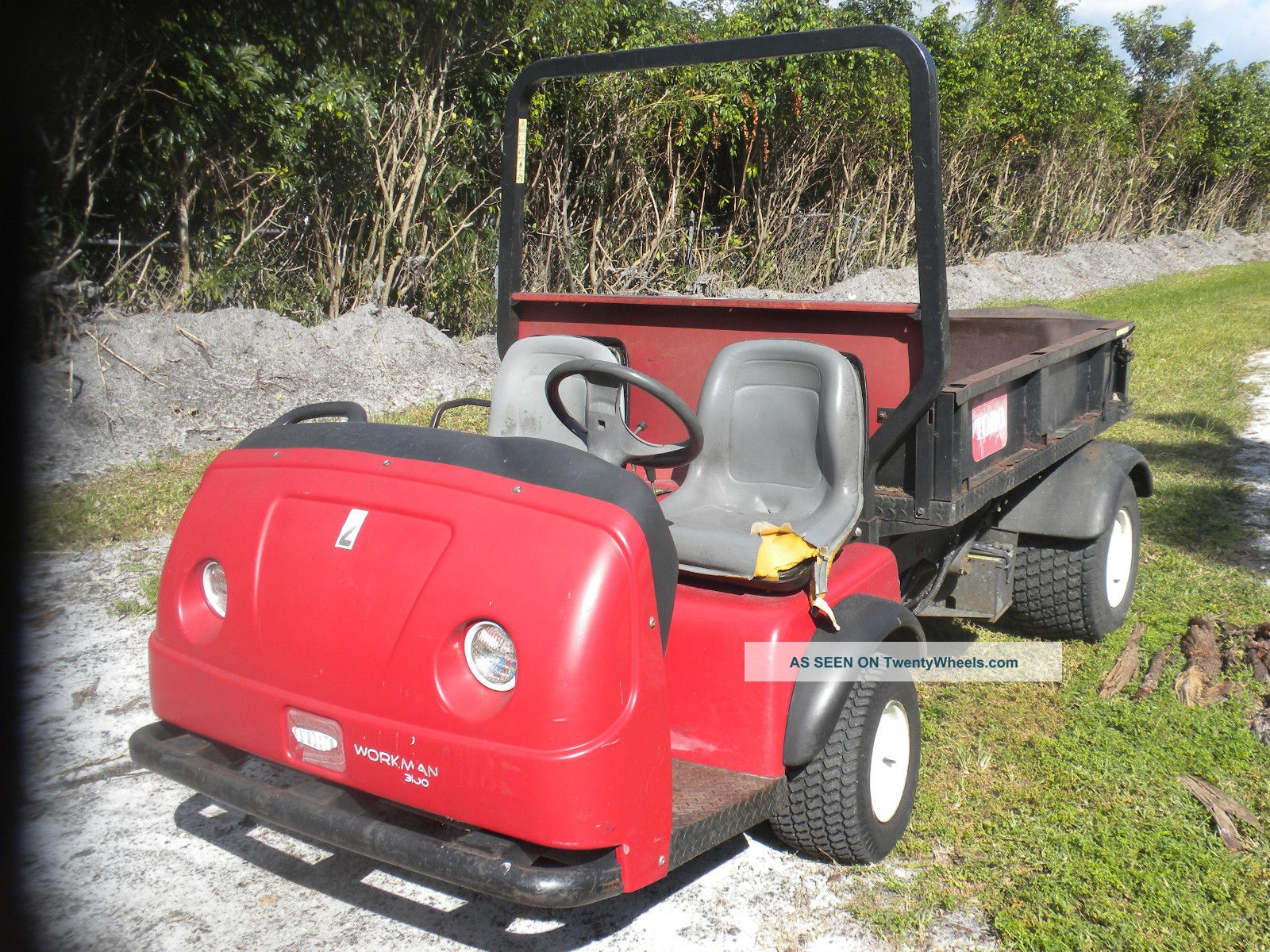 Toro Workman 3100 Utility Vehicles photo