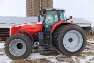 2005 Massey Ferguson 8480 Tractor photo