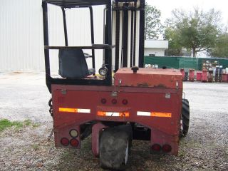 Moffett Rough Terrain Forklift $4000 photo