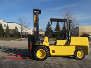 Hyster 11000 Lb Capacity Forklift Lift Truck Dual Pneumatic Tire 60