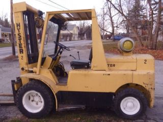 Hyster H90c 9000 Lb Forklift photo