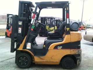 2005 Caterpillar Cushion 5000 Lb C5000 Forklift Lift Truck photo