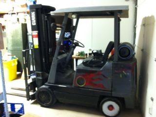 Clark Gcx25e Forklift photo