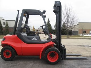 2003 Linde H45d - 600 10000 Lb Capacity Forklift Lift Truck Dual Pneumatic Tire photo
