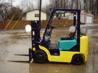 Komatsu Fg20st 4000lb Propane Forklift photo