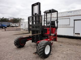 2000 Moffett Model (m5000) Piggy Back 3 Wheel Fork Lift,  5k,  913 Hrs 20973 photo