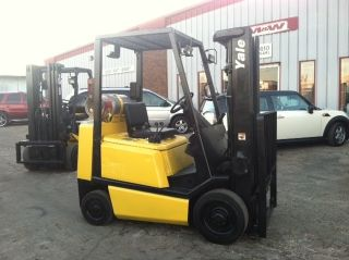 Yale Cushion Glc050 5000 Lb Forklift Lift Truck photo