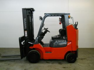 2007 Toyota 8000 Lb 7fguc35 - Bcs Capacity Lift Truck Forklift Triple Stage Mast photo