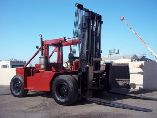 Taylor Forklift 45000lb Capacity Diesel Side - Shifter,  Fork - Positioner 8 Ft Forks photo