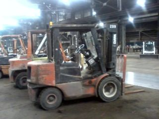 Clark Cgp - 6000lb Forklift,  Diesel Powered 65 Hp,  168