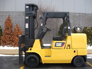 2007 Caterpillar Gc45 10000 Lb Capacity Lift Truck Forklift Triple Stage Mast photo