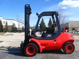 2004 Linde H45d - 600 10000 Lb Capacity Forklift Lift Truck Dual Pneumatic Tire photo