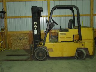 Tc100d Cat Diesel Forklift photo