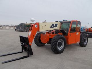 Jlg G9 - 43a Telescopic Telehandler Forklift Lift 9000 Lb Capacity Heated Cab photo